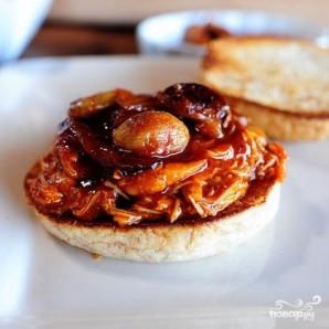 Куриный сэндвич барбекю - фото шаг 5