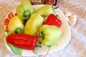 Болгарский перец в духовке - фото шаг 1
