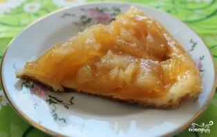 Яблочный пирог на сковороде - фото шаг 6