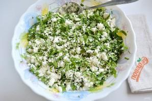 Весенний пирог с зеленью - фото шаг 3