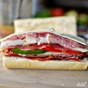"Бутерброд ""Субмарина"" - фото шаг 9"