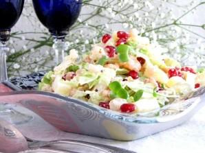 Салат с капустой и креветками - фото шаг 4