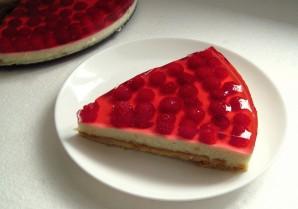 Творожно-малиновый торт - фото шаг 11