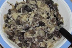 Вкусные блинчики с грибами и сыром - фото шаг 6