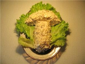 """Салат """"Подосиновик"""" с грибами - фото шаг 5"""