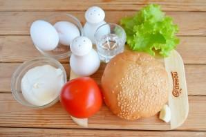 Бутерброд с яйцом (мастер класс) - фото шаг 1