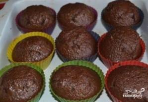 Шоколадные кексы в формочках - фото шаг 8