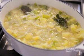 Картофельный суп с луком - фото шаг 4