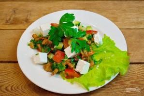 Салат с сыром фета - фото шаг 6