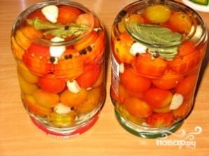 Маринованные помидоры черри - фото шаг 7