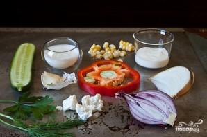 Салат из сладкой кукурузы - фото шаг 1