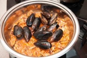 Паста с морепродуктами - фото шаг 5