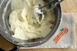 Торт из зефира с кремом - фото шаг 4