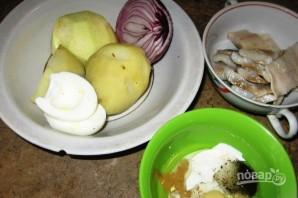 Датский салат из сельди - фото шаг 1