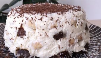 Торт без выпечки из пряников - фото шаг 8