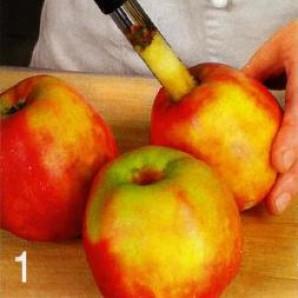 Яблоки в тесте - фото шаг 1