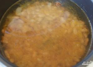 Суп с фасолью в мультиварке - фото шаг 3