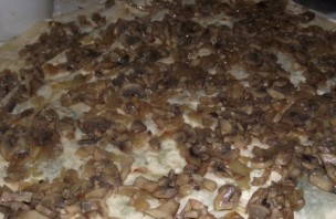 Лаваш с грибами и сыром - фото шаг 4