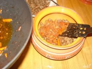 Гречка с мясом в горшочке - фото шаг 7