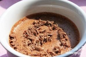 Шоколадный мусс с коньяком - фото шаг 5