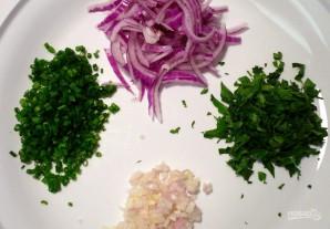 Салат с кальмарами и огурцами - фото шаг 5