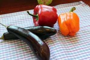 Салат с запеченными овощами - фото шаг 1