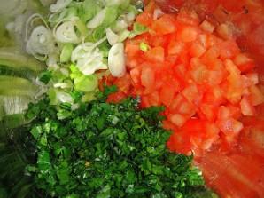 Салат с чечевицей и помидорами - фото шаг 3