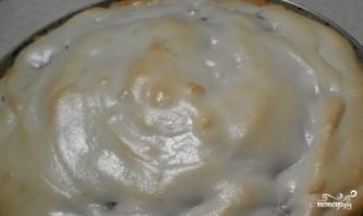 Песочный пирог с меренгой и вишней - фото шаг 6