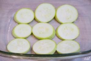 Кабачки с помидорами и сыром в духовке - фото шаг 2