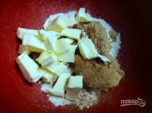 Овсяный пирог с грушей - фото шаг 4