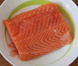 Красная рыба в кляре - фото шаг 1