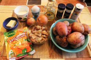 Картофельные котлеты в духовке - фото шаг 1