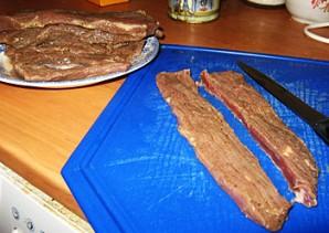 Бастурма из свинины в духовке - фото шаг 2