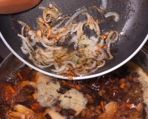 Суп из консервированных грибов   - фото шаг 10
