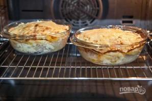 Картошка под шубой в духовке со свининой - фото шаг 15