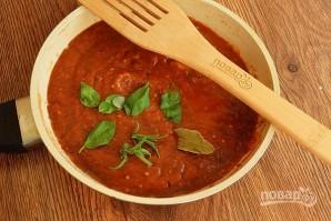 Фрикадельки под томатно-сырным соусом - фото шаг 5