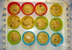 """Кексы с изюмом """"Бабулины"""" - фото шаг 6"""