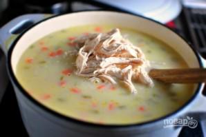 Рецепт рисового супа с курицей - фото шаг 7