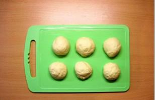 Пирожки с капустой на сковороде - фото шаг 5