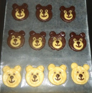 """Печенье """"Весёлые медвежата"""" - фото шаг 10"""