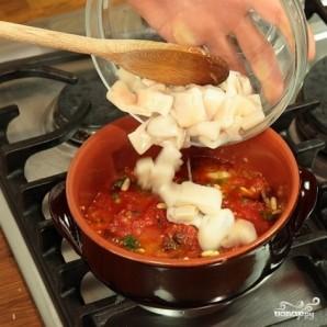 Тушеные кальмары в соусе - фото шаг 2
