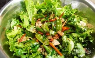 Стручковый горох с овощами - фото шаг 7