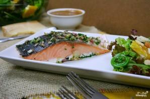 Запеченное филе лосося - фото шаг 3