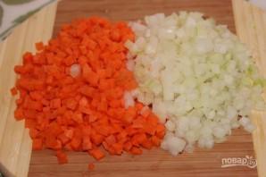 Острый испанский суп с колбасками - фото шаг 2