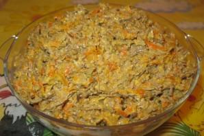 Печень с морковью и луком - фото шаг 6