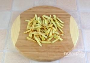 Салат из свеклы с сельдью и яблоком - фото шаг 4