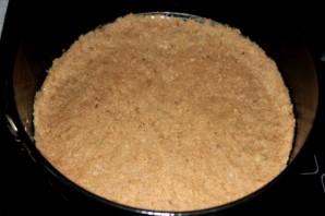 Черничный чизкейк со сливками - фото шаг 4