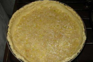 Открытый пирог с курицей - фото шаг 4