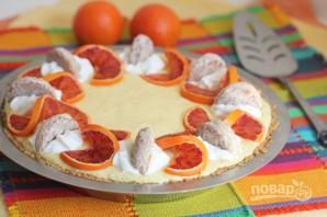 Пирог с мандаринами - фото шаг 8