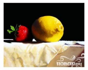 Коктейль с клубникой и базиликом - фото шаг 3